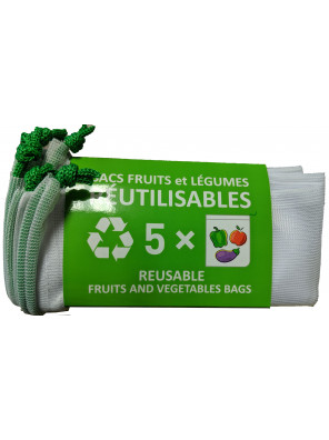 Reusable Mesh Bags (13,5X14)