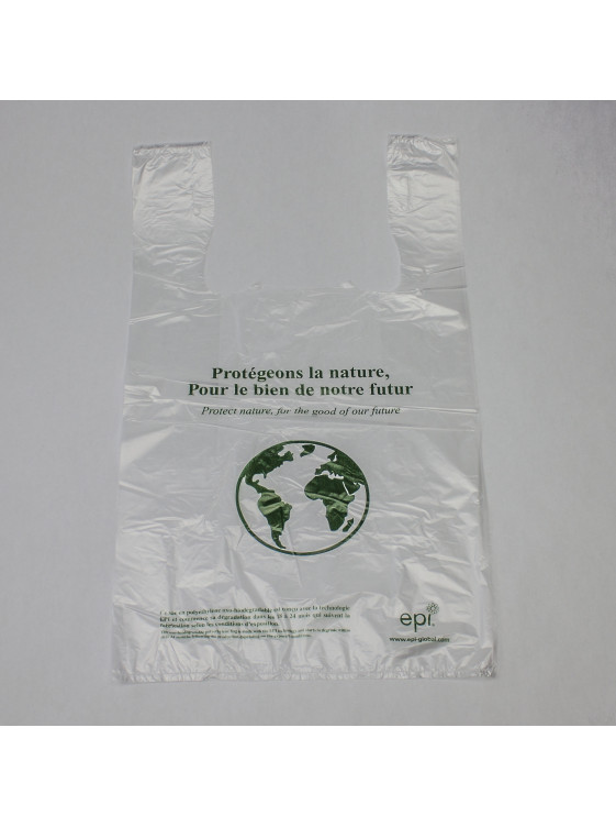 Biodegradable T-shirt bag (9 x 17,5 + 5,5)_Emballage EDR