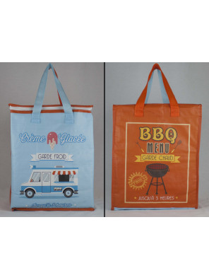 Reusable non-woven bag (13 x 16,25 + 7)