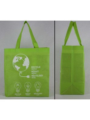 Reusable non-woven ultrasonic bag (14 x 15 + 7)_Emballage EDR