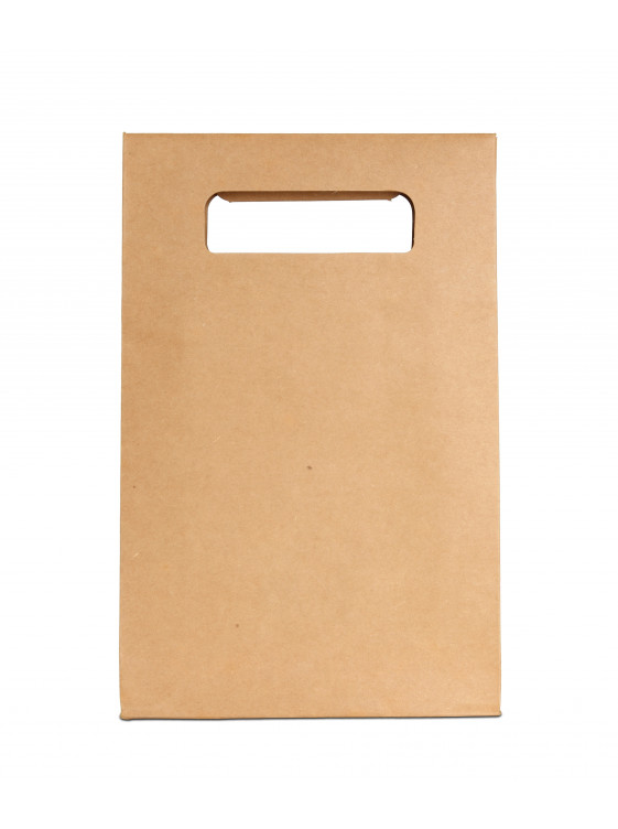 Kraft T-shirt  Die-Cut Paper Bag_Emballage EDR