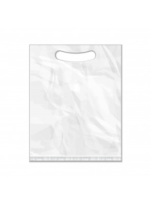 Die-Cut Plastic Bag Custom Print