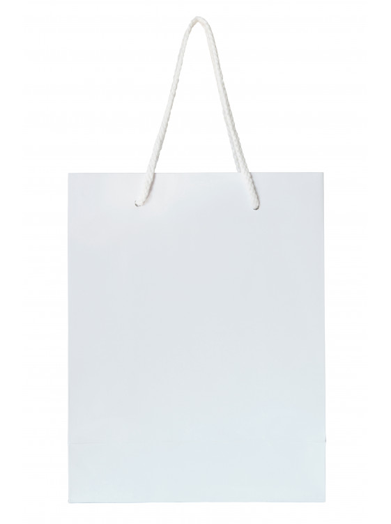 Narrow Paper Shopping Bag Custom Print