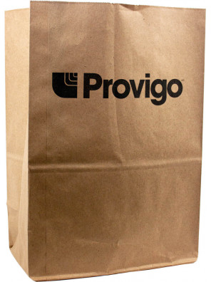 """Kraft paper bags with no handles """"grocery / catering"""" style_Emballage EDR"""